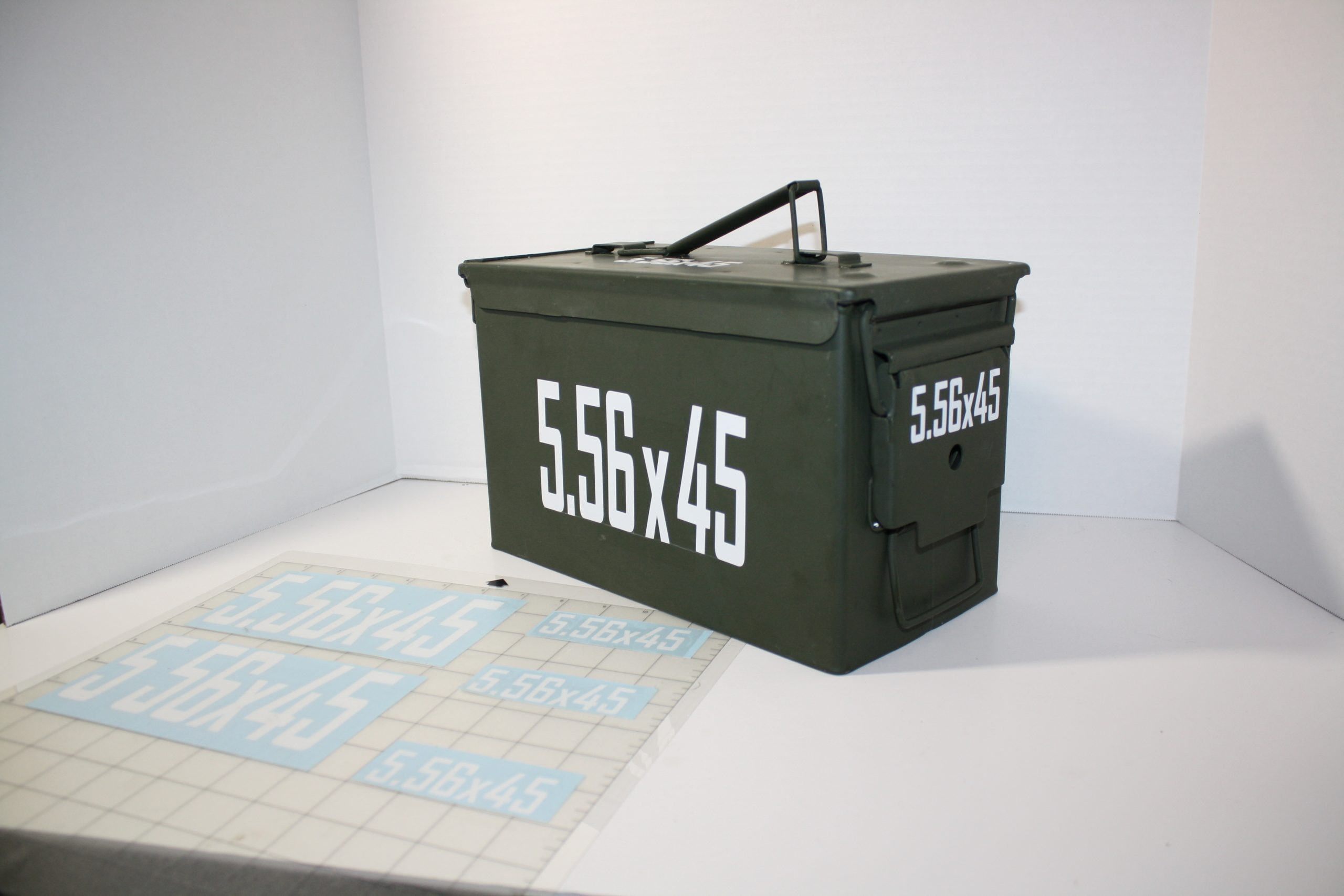 Ammo Can Caliber Label Stickers
